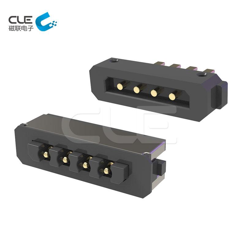 4 Pin waterproof electrical connectors
