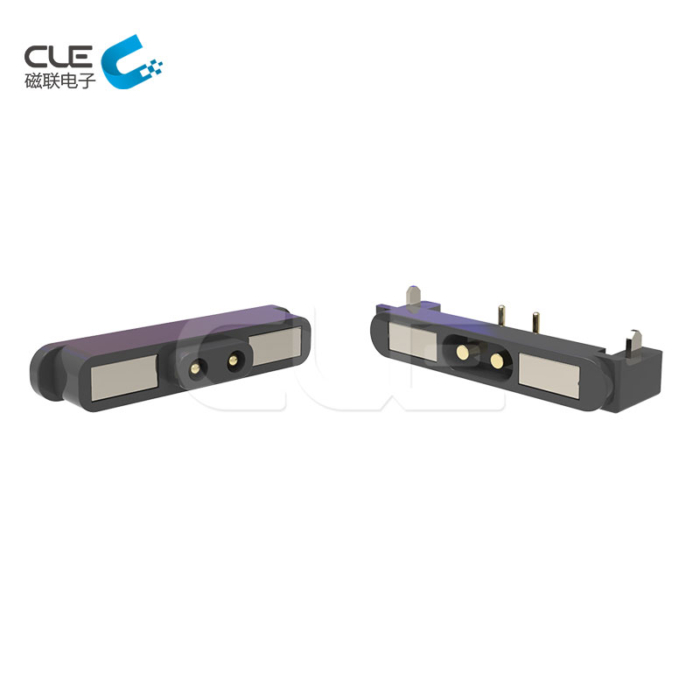 2Pin magnetic dc connector with usb