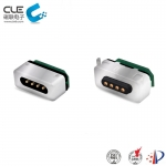 [M-BP29111] Custom 4 pin magnetic connector for charging