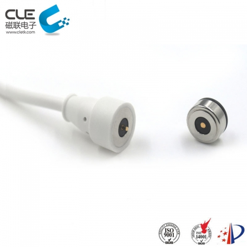 Dc round magnetic cable connectors Magnetic cable connector for charging