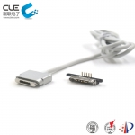 [CM-BP77711] Male and female electrical  connectors with magnetic cable