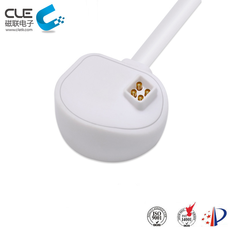 Custom smart match magnetic usb charger cable connector