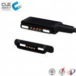 [CM-BP70101-04] 4Pin male and female magnetic usb cable charger connector