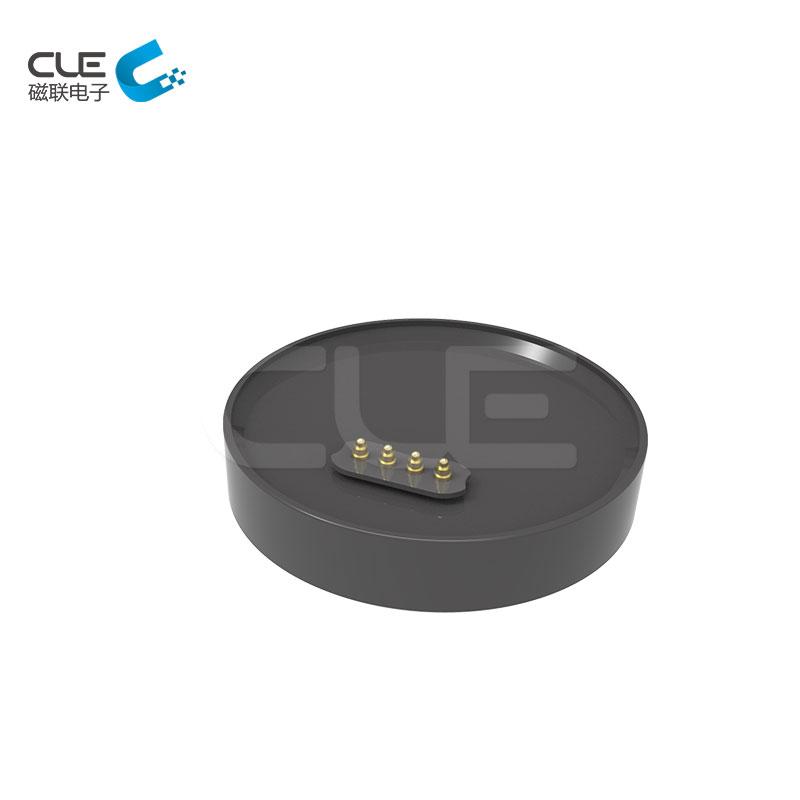 Custom magnetic pogo connector for Smart bracelet