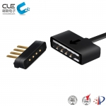 [CM-BP27011] 4 Pin connector male female magnetic cable connector