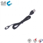 [CM-BP28211] 2Pin quadrate magnetic charging cable connector for Smart watch