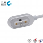 [CM-BP34611] 2Pin magnetic pogo pin connector with usb cable