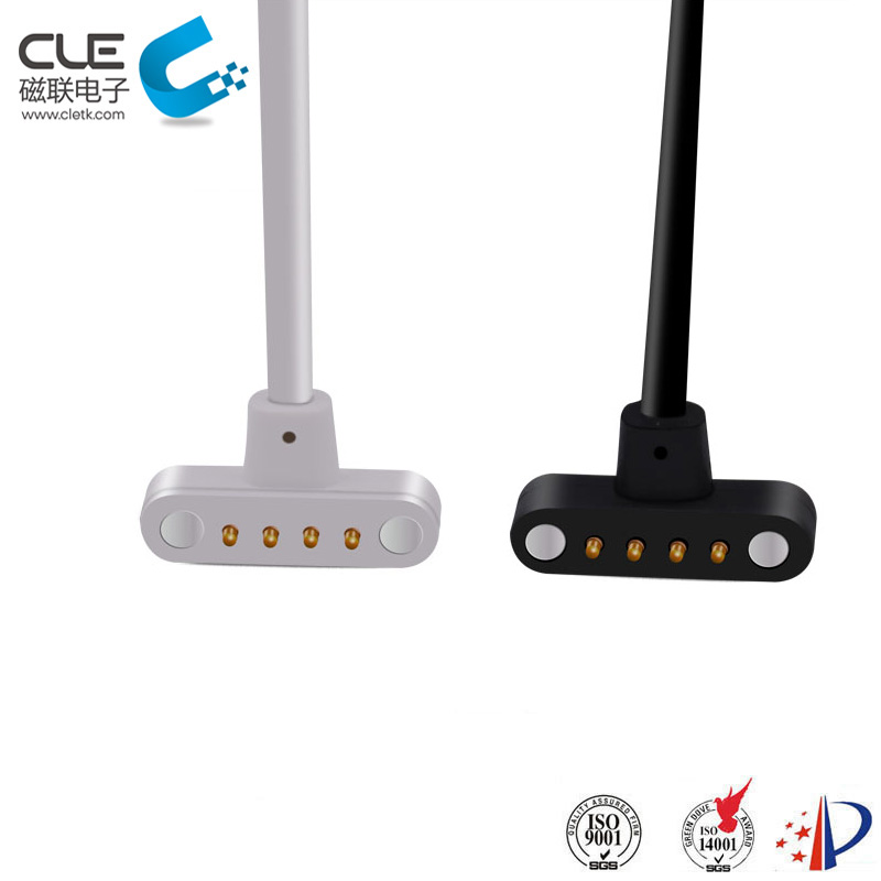 Male and female magnetic watch charger cable usb connector