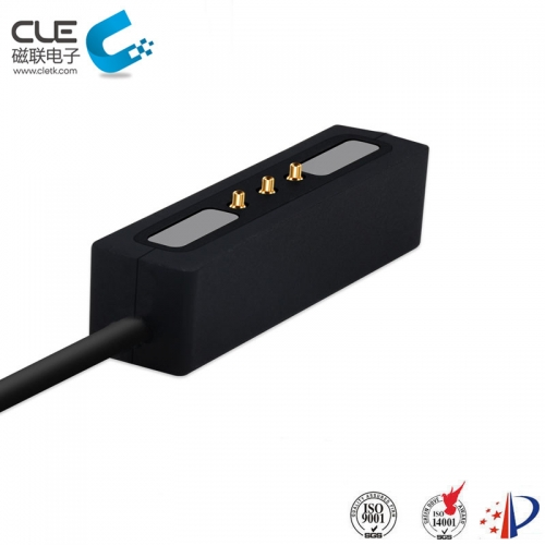 Male magnetic charger usb connector pins. Magnetic is a device used in electronics ,it's easy to separate and can protect device.We're customizing many more magnetic cable connectors according to our customers' designs, you can customize the product shape as you like.