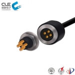 [CM-BP41101] Waterproof 4 pin magnetic connector automotive