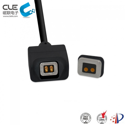 2 Pin magnetic female magnetic power connector laptop