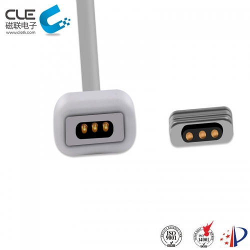 3Pin magnetic cable usb connector for vibrator