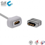 [CM-BP54611] 3Pin magnetic cable usb connector for vibrator