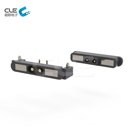 Magnetic usb 4 pin pogo charger connector for safe