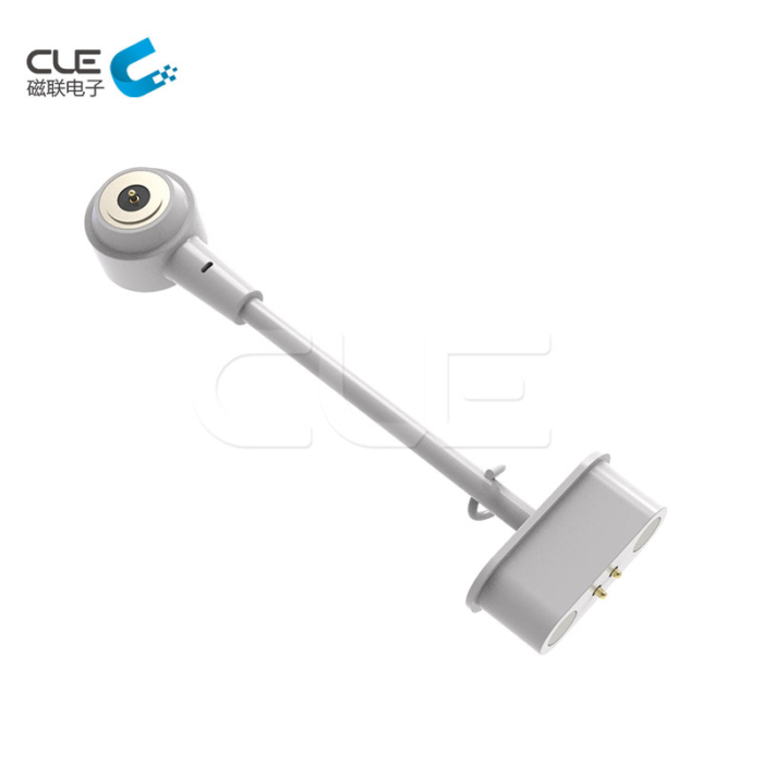 New magnetic charger cable connector with Micro projector