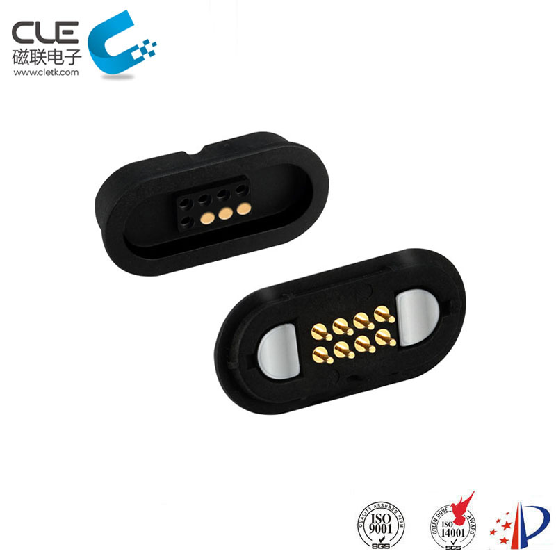 High quality electrical 8pin magnetic power connector