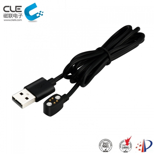 Latest charger usb 4pin magnetic pogo pin connector