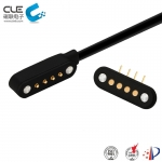 [CM-BP110411] 4 Pin male and female magnetic charging cable connector for smart wear