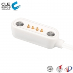 [CM-BP38611]  High class 4 pin pogo pin magnetic connector with cables