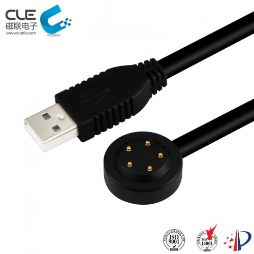 Fast charging 5 pin usb magnetic cable