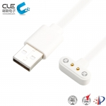 [CM-BP62311] Magnetic pogo 2 pin electronic charging connector for smartwatch