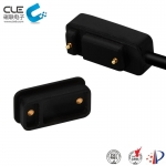 [CM-BP73211] Waterproof magnetic pogo pin usb connector for outdoor headlight
