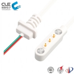 [CM-BP88501]  3 Pin magnetic dc power connector with cable for air cleaner