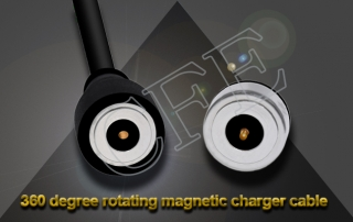 magnetic cable changer