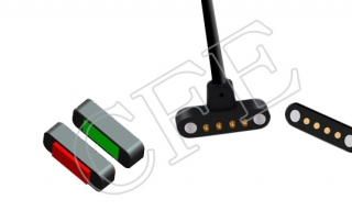 magnetic pogo pin cable