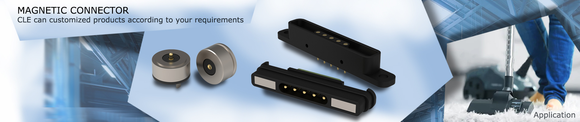 magnetic connector for smart home
