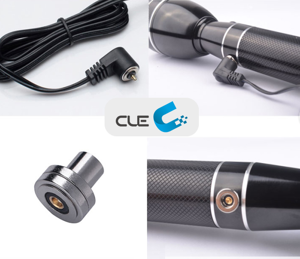 Unique Charging Experience of Magnetic Charging LED Flashlight