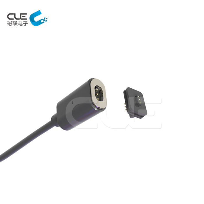 3Pin magnetic cable usb connector for smart watch