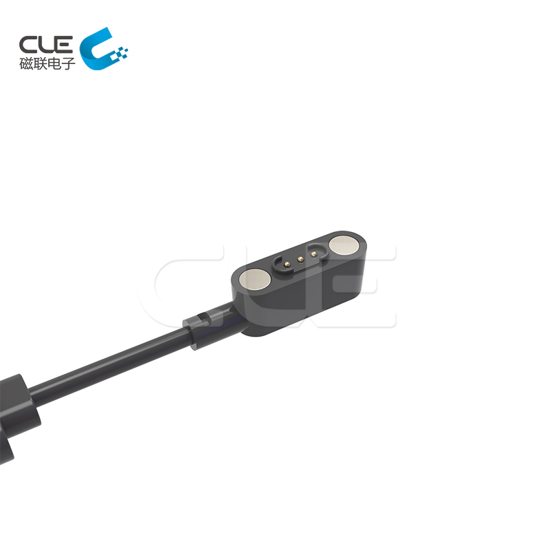 3 pin male magnetic charger usb connector for smart wear
